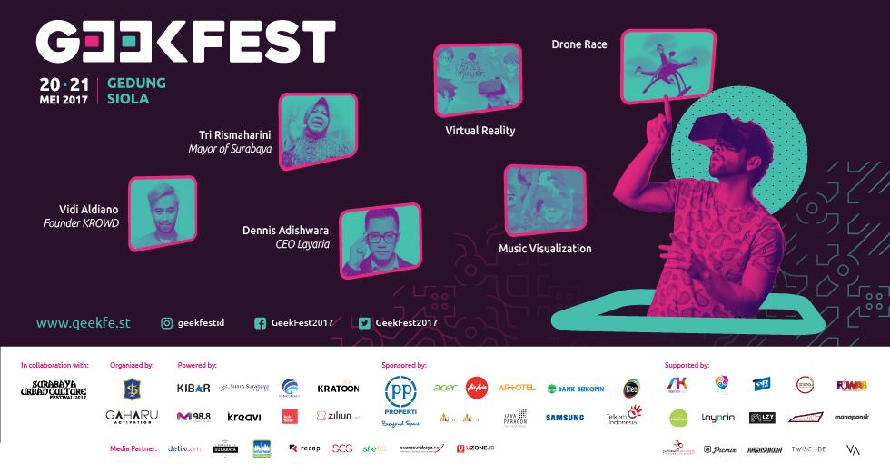 Geekfest 2017: Momentum Kebangkitan Industri Kreatif Lokal Berbasis Teknologi