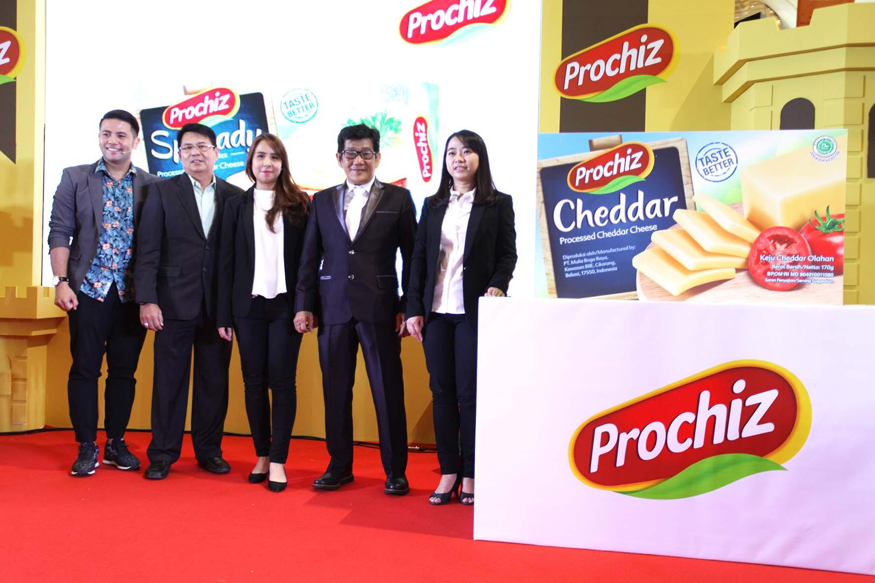 Prochiz Vaganza Ajak Masyarakat Hobi Makan Keju