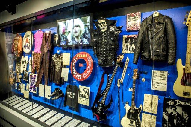 Rock and Roll Hall Of Fame Pajang Misfits