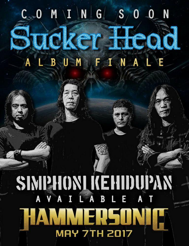 Sucker Head Rilis Album dan Show Terakhir di Hammersonic 2017