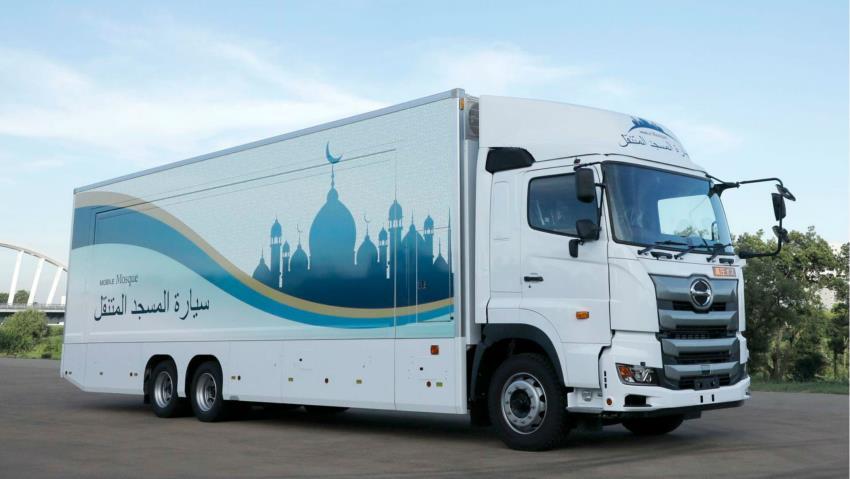 Pakai Truk, Jepang Punya Masjid Portable Berjalan