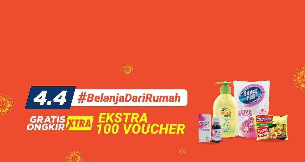 Ajak Masyarakat Social Distancing, Shopee Gelar Kampanye #BelanjaDariRumah