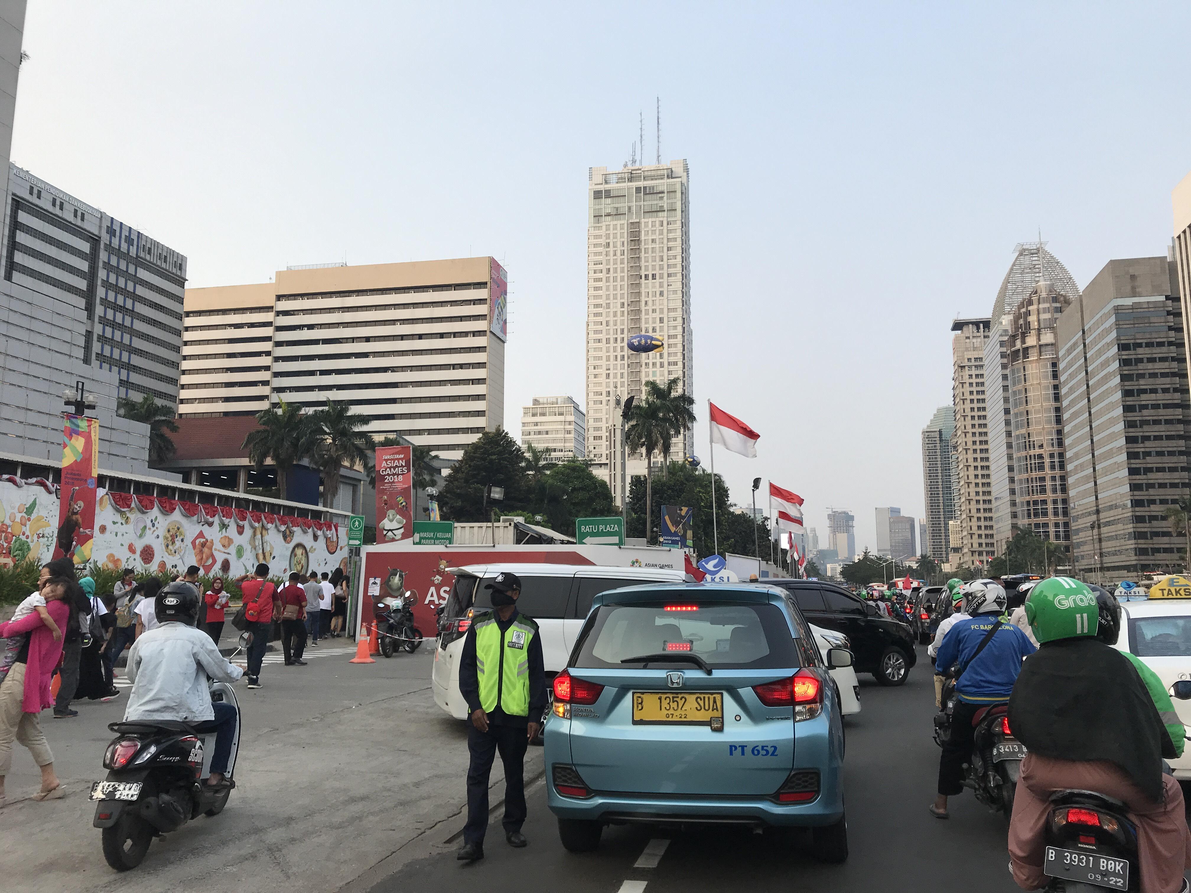 Menanti Opening Asian Games 2018, Jalanan Lancar!