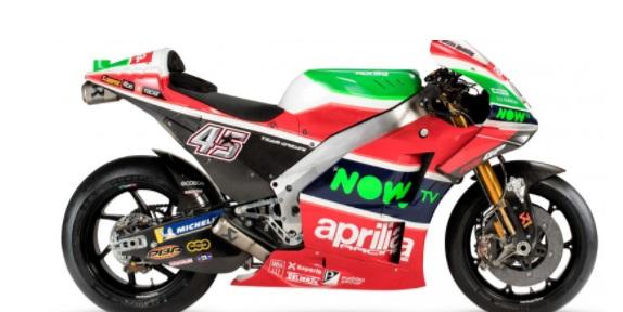Motor Aprilia dengan Senjata Terbaru Targetkan Posisi 5 Besar di MotoGP 2018