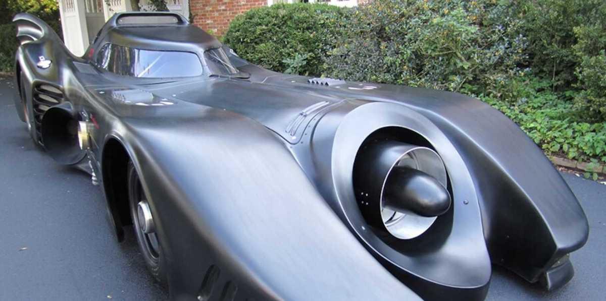 Batmobile Pakai Mesin Turbin Ini Dijual, Legal di Jalan Raya