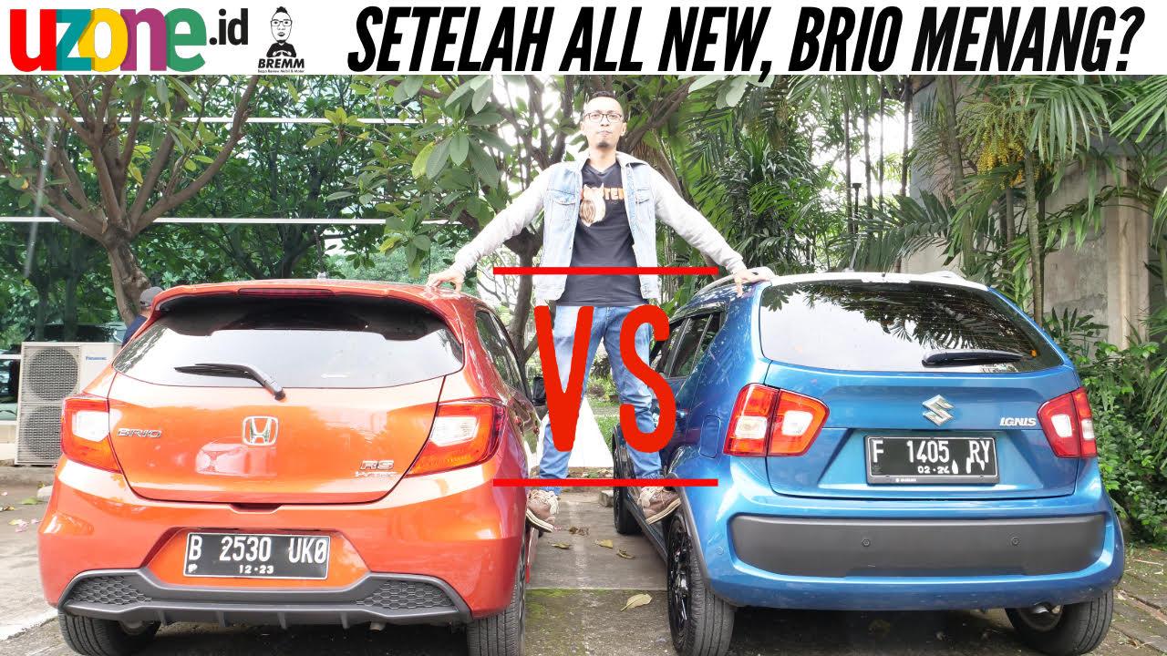 Tonton Video Honda All New Brio vs Suzuki Ignis, Mana yang Layak Dibeli?