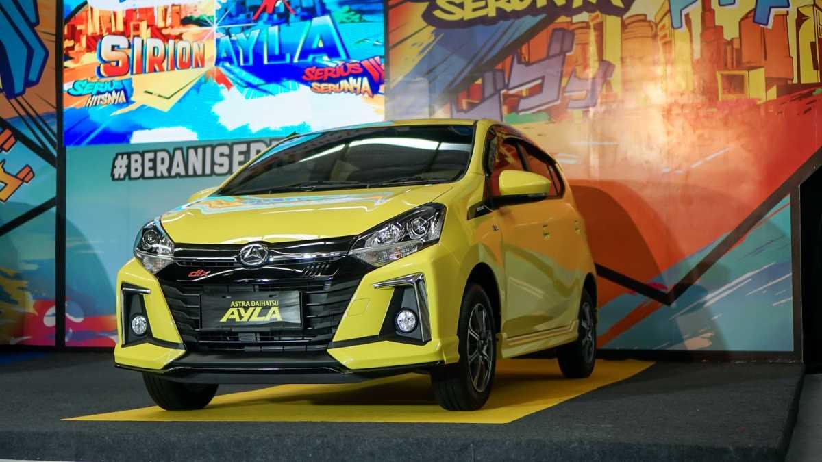 Cicilan Agya-Ayla Facelift Semurah Nyicil Motor!