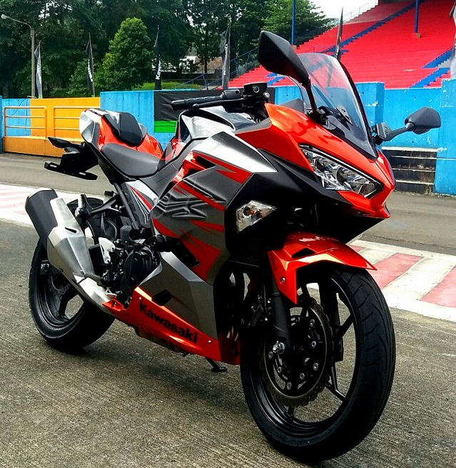 All New Ninja 250, Lebih Sporty dan Futuristik