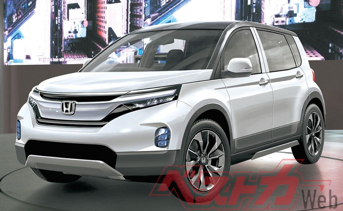 Inikah Penerus Honda HR-V, Ukurannya Lebih Besar