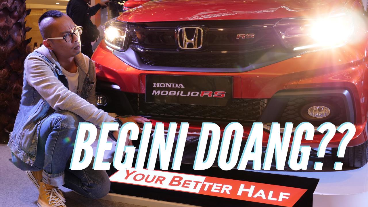 Tonton Video Review Honda Mobilio 2019, Perubahannya Luar Biasa (Sedikit)