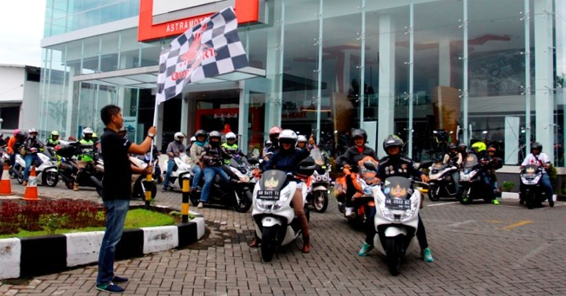 Komunitas Honda PCX Touring 9 Kota
