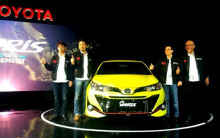 New Toyota Yaris Semakin Sporty dan Agresif