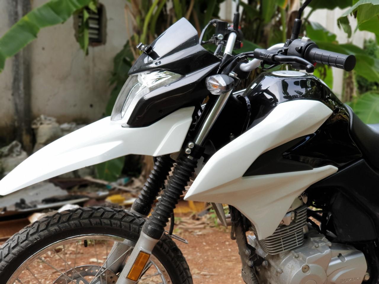 Penampakan Suzuki DR 150, Calon Motor Dual Purpose untuk Indonesia