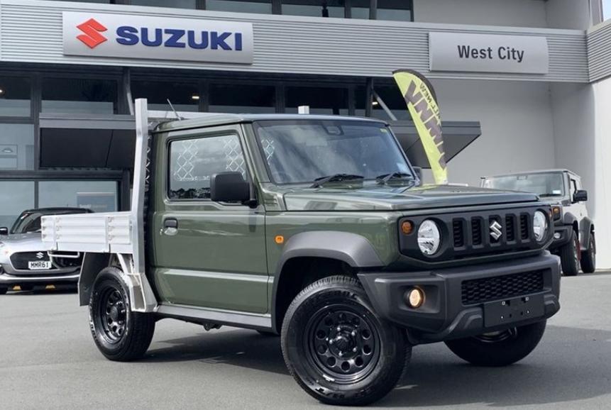 Gak Tega Lihatnya, Suzuki Jimny Dimutilasi Lalu Dijadikan Pickup