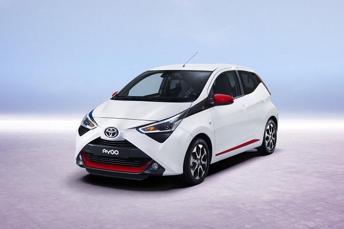 Toyota Sebar Facelift New Aygo