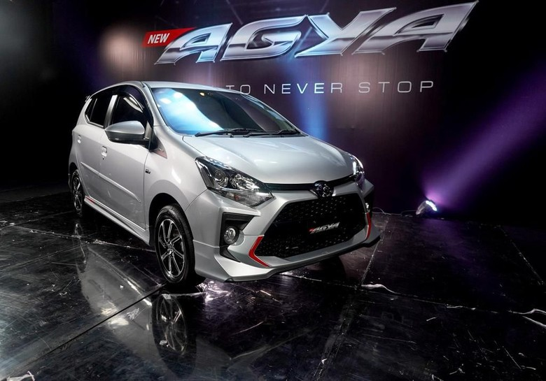 Detail Ubahan Toyota Agya Facelift
