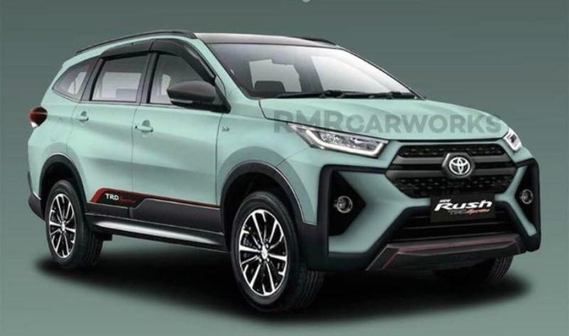 Begini Tampang Toyota Rush Facelift?