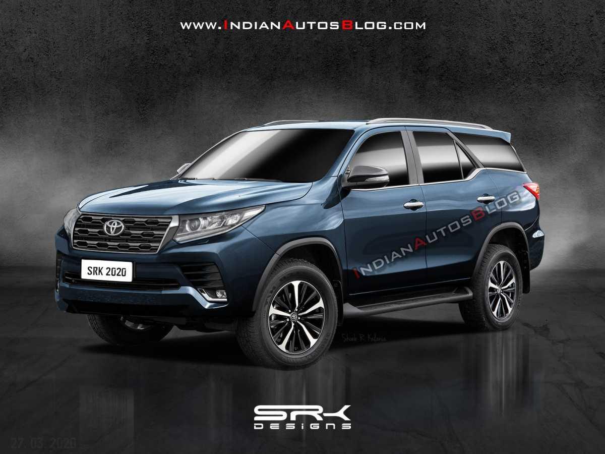Penampakan Sosok Toyota Fortuner Facelift yang Gak Berubah Banyak