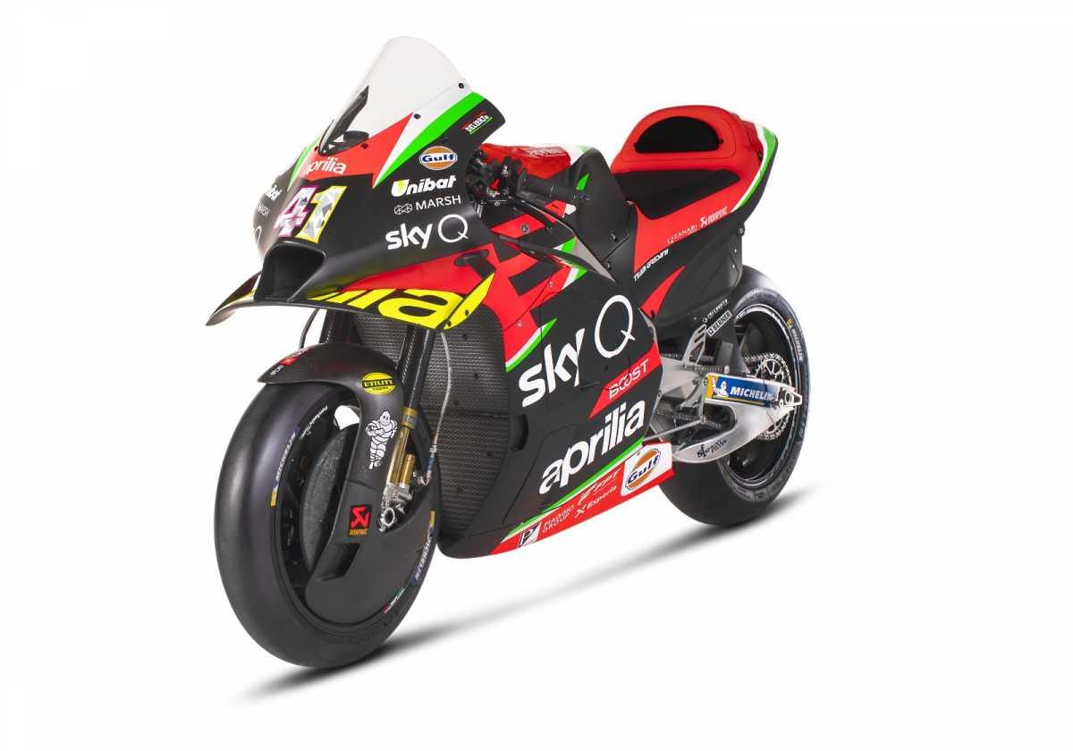 Mengenal Motor Balap Aprilia RS-GP 2020