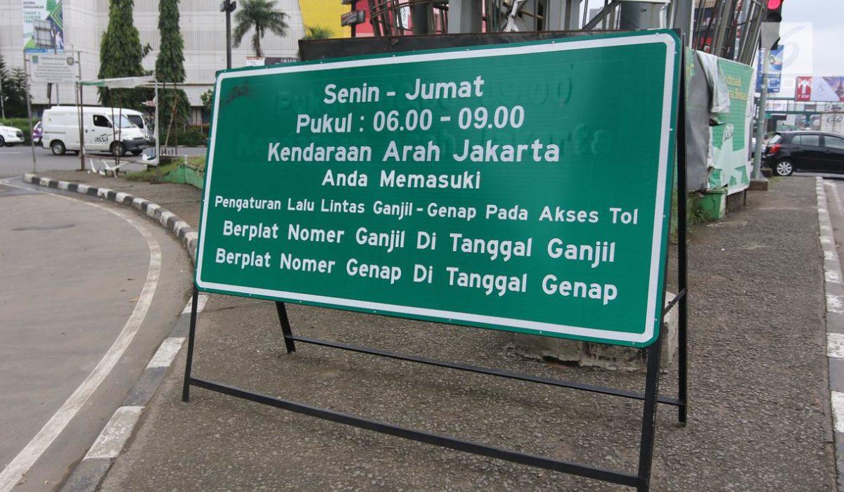 Bebas Ganjil Genap DKI Diperpanjang Sampai 19 April, Tilang Elektronik Tetap Berlaku!