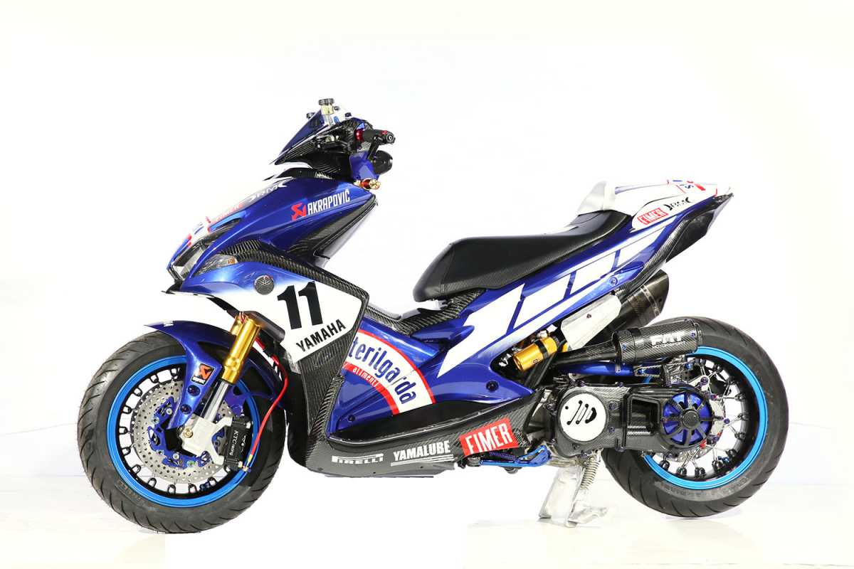 Switch Rem Bermasalah, Yamaha Indonesia Recall Aerox dan FreeGo