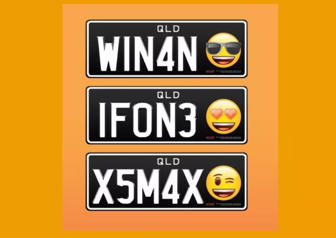 <i>Ada-ada Aja</i>, Plat Mobil di Australia Bisa Pakai Emoji!
