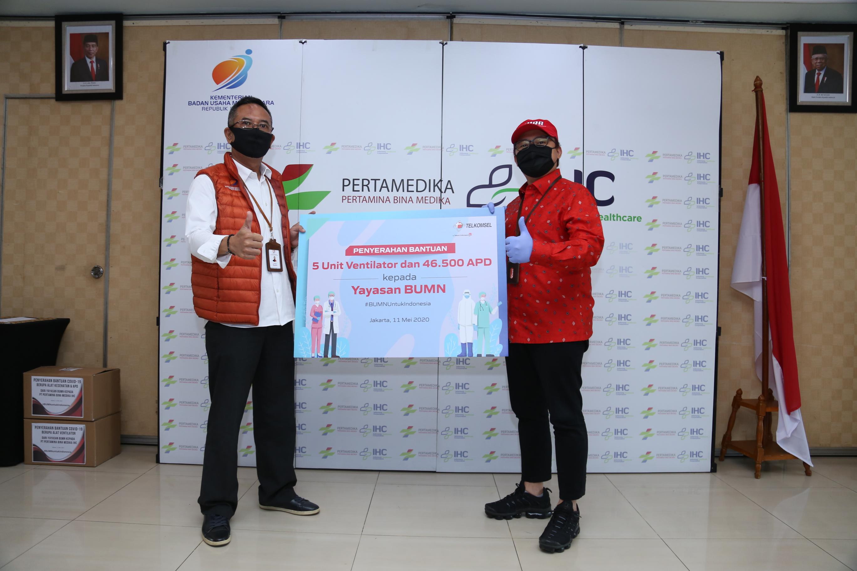 Bantuan CSR Telkomsel-2