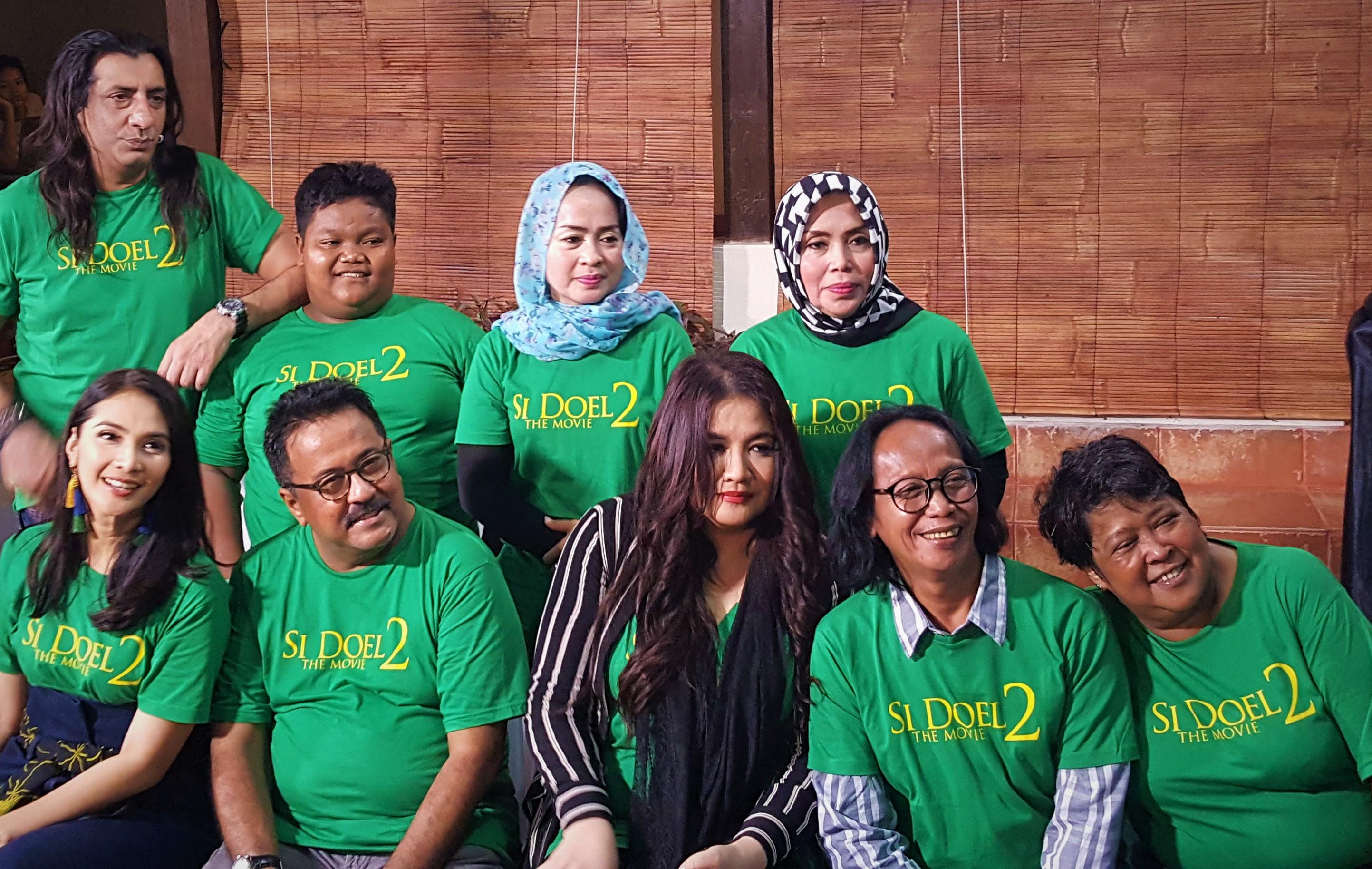 Munaroh Main Di Si Doel The Movie 2 Clbk Sama Mandra Uzone