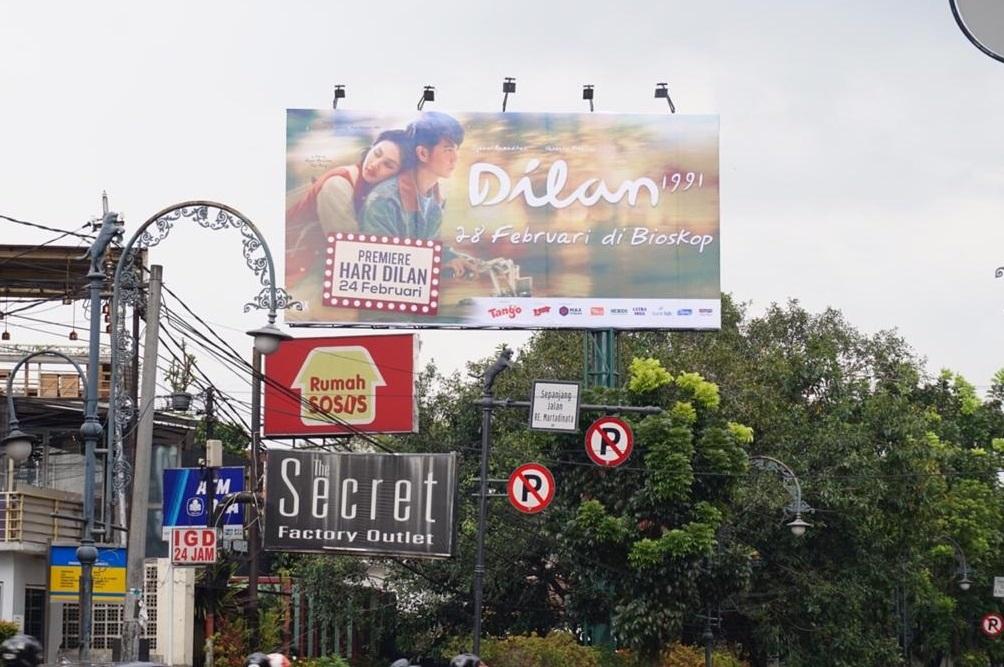 Bandung Menggila Sambut 'Hari Dilan'