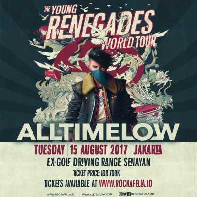 All Time Low Gelar Konser Ke-3 Kalinya di Jakarta