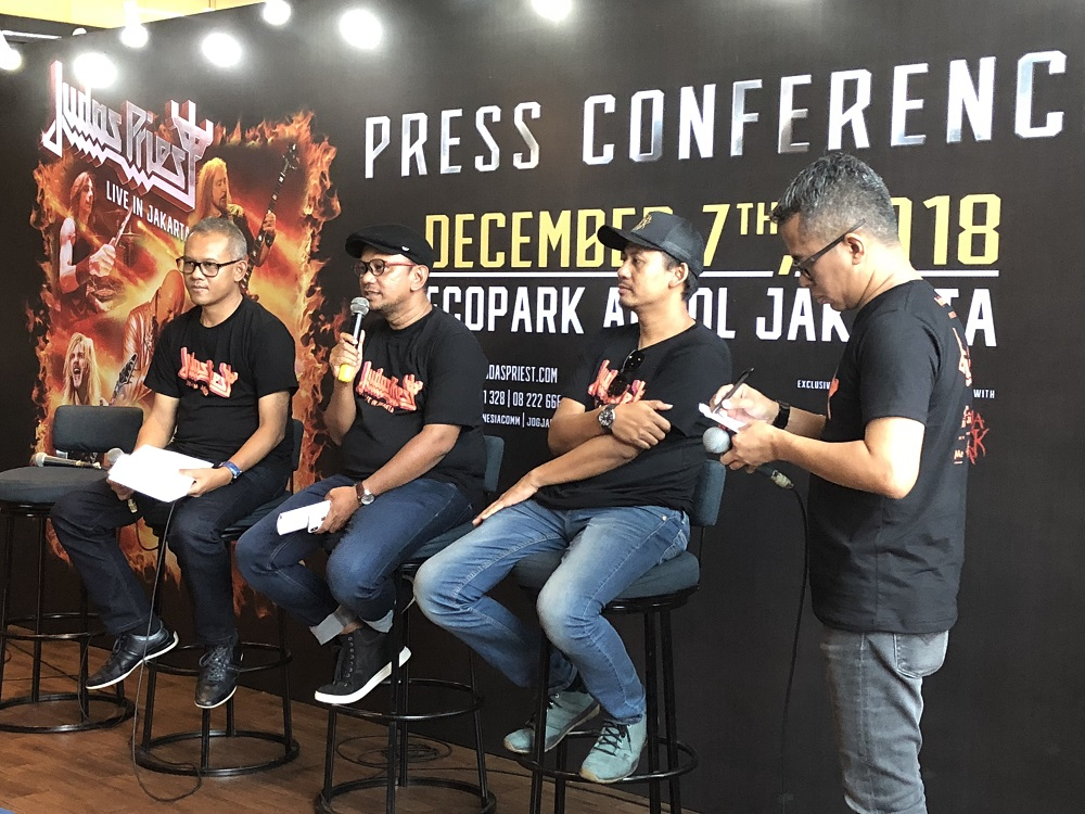 Judas Priest Konser Perdana di Indonesia