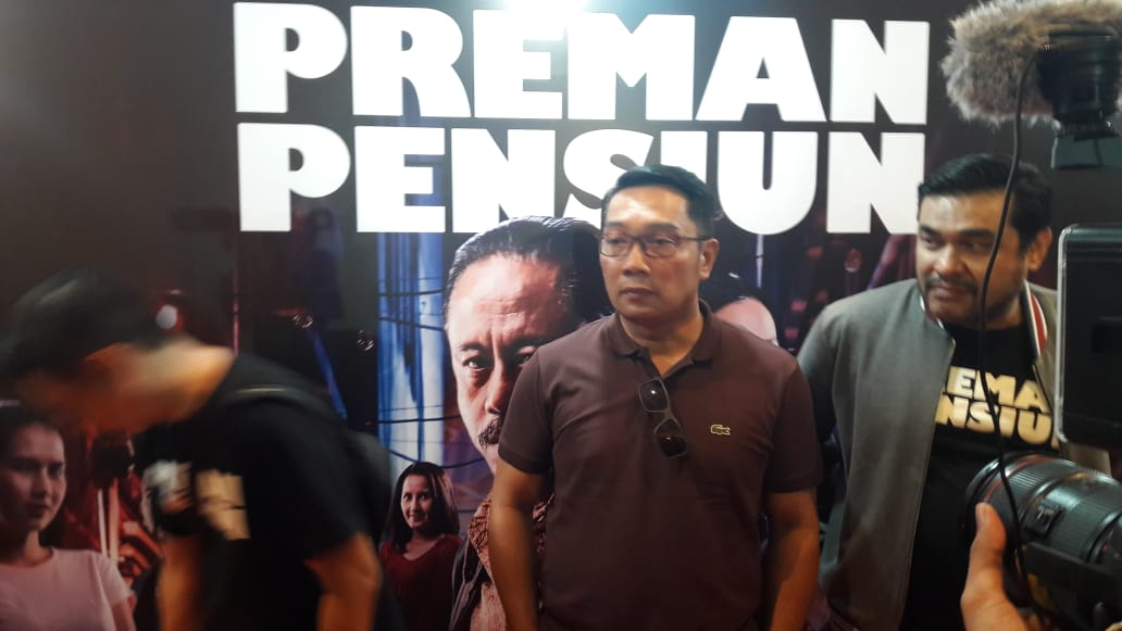 Usai Nonton, 3 Kata Ridwan Kamil untuk Film 'Preman Pensiun'