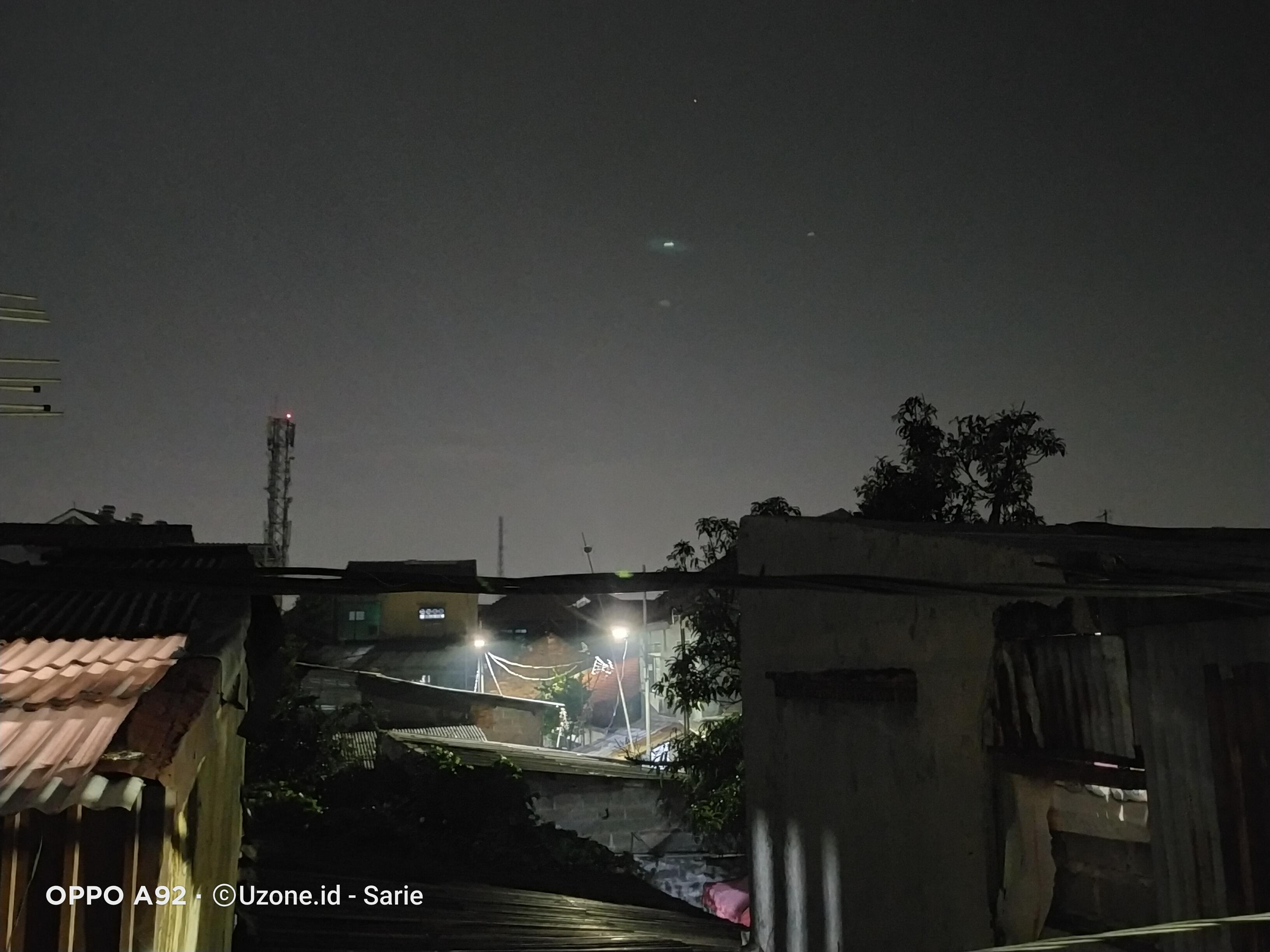 hasil foto a92 - night mode