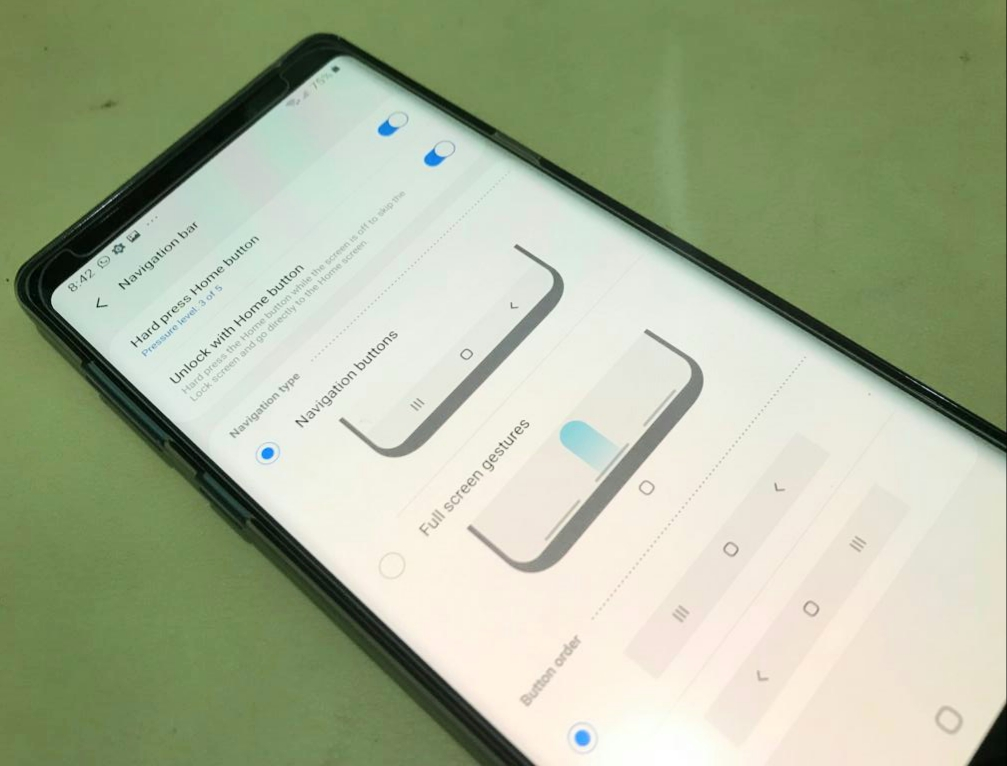 Galaxy Note 5 Android Pie