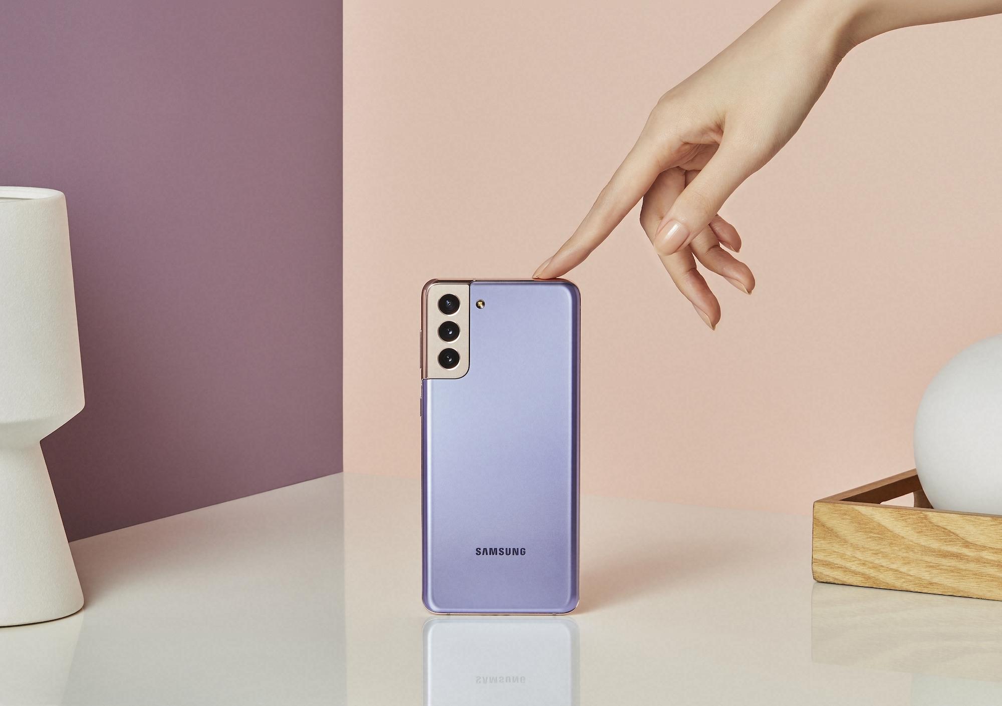 Cerita di Balik Warna Phantom Violet di Samsung Galaxy S21 Series 5G