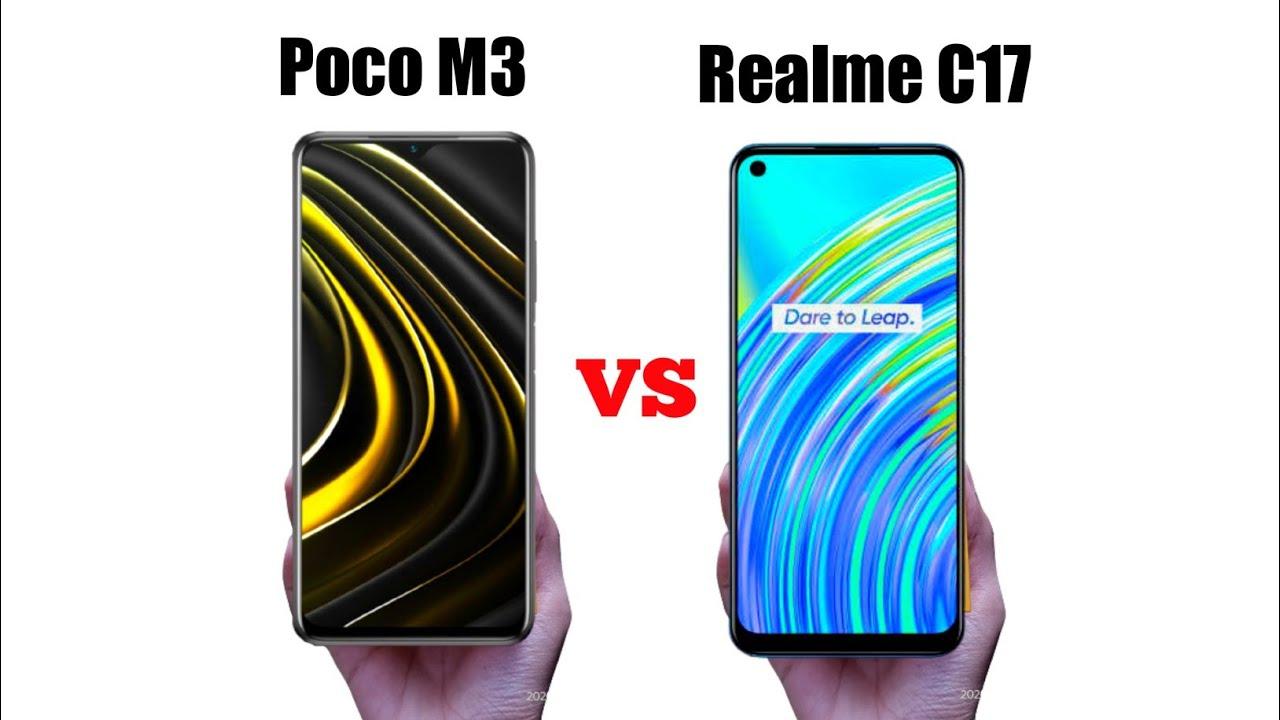 Perang Ponsel Entry Level: Poco M3 vs Realme C17