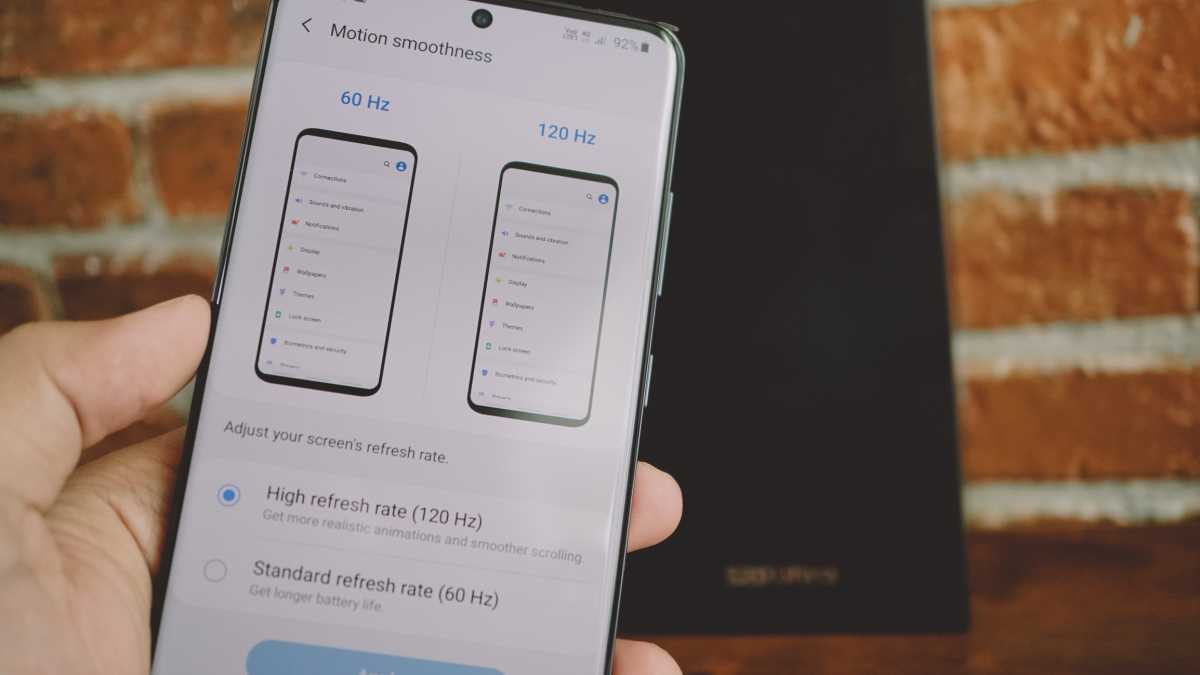 Samsung Galaxy S20 Punya Refresh Rate 96Hz?