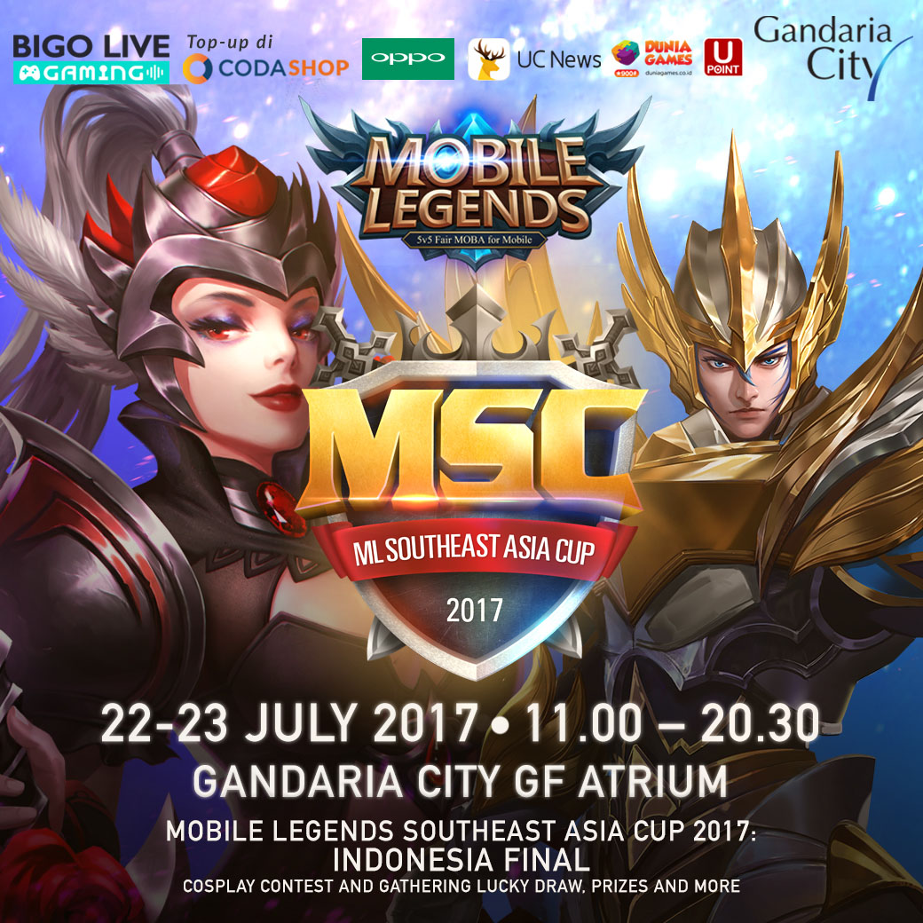 'The Mobile Legends Southeast Asia Cup Final 2017' Digelar Pekan Depan