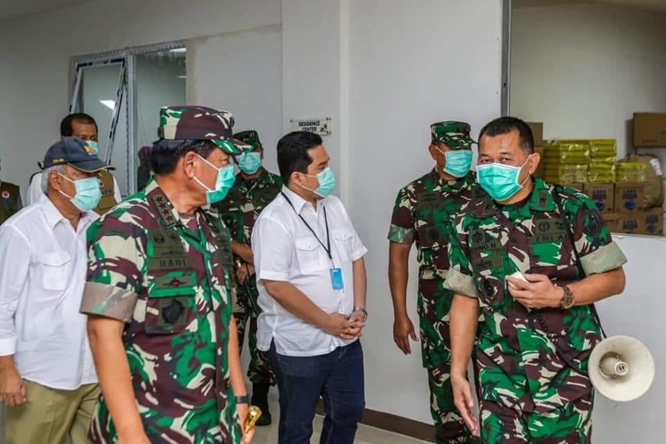 Telkomsel Selimuti Wisma Atlet Kemayoran yang Jadi RS Darurat Covid-19