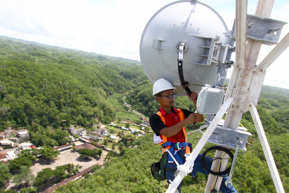 Telkomsel Berencana Bangun 23.000 BTS 4G di Indonesia