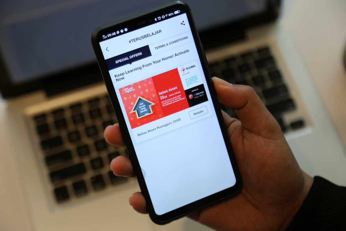 Telkomsel Kasih 30GB Data Gratis untuk Mahasiswa Belajar dari Rumah