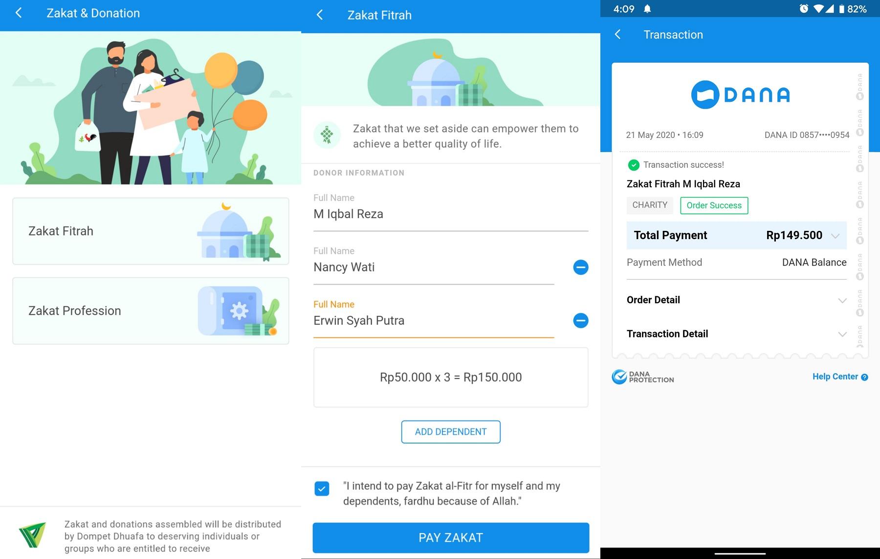 5 Aplikasi Bayar Zakat Fitrah Online Terpercaya