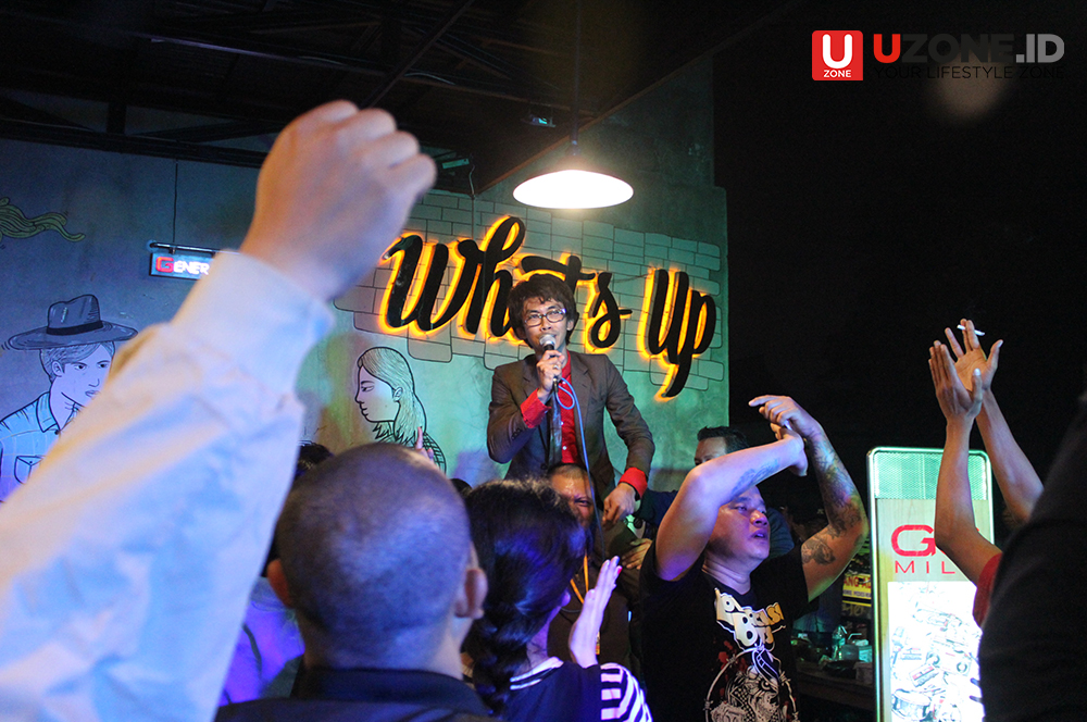 Keseruan Road to Skafest  di Whats Up Cafe