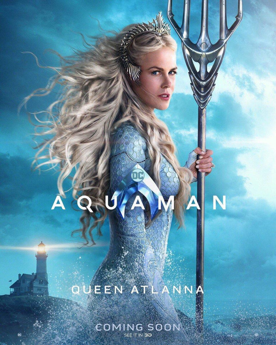 Tayang Bulan Depan, Intip 7 Poster 'Aquaman' Yang Baru