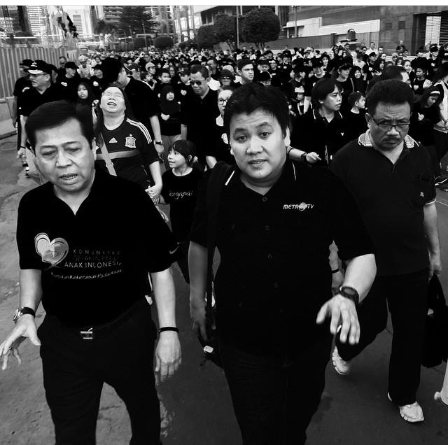 Foto Kedekatan Kontributor Metro TV Dan Setya Novanto