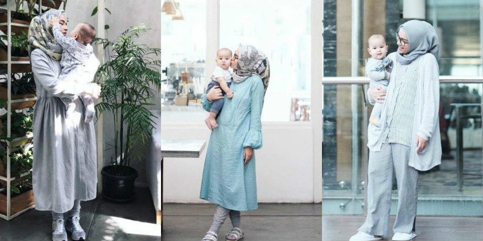 Hijab Style Yang Bikin Mama Muda Tetap Terlihat Playful Uzone