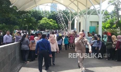 Gempa Jakarta, Setnov: Goyang, Goyang, Goyang!