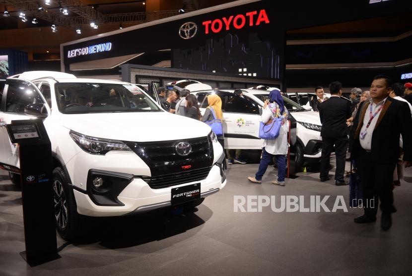 Avanza Dominasi Penjualan Toyota di IIMS