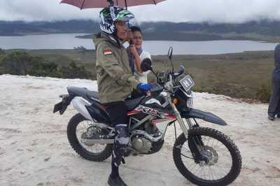 Kawasaki KLX 150 Jokowi Dibeli Tanpa Diskon