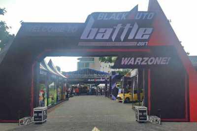 Black Auto Battle 2017 Hebohkan Kota Solo